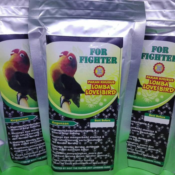 FOR FIGHTER Pakan lomba untuk burung Lovebird
