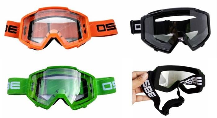 harga Kacamata motocross goggle osbe google Tokopedia.com