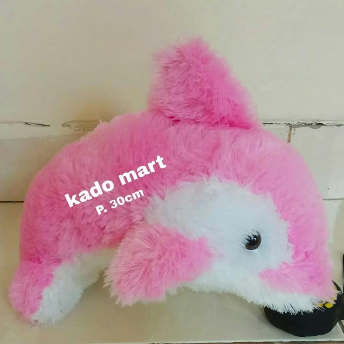 Mainan boneka ikan dolphin lumba lumba hiu baby shark ...