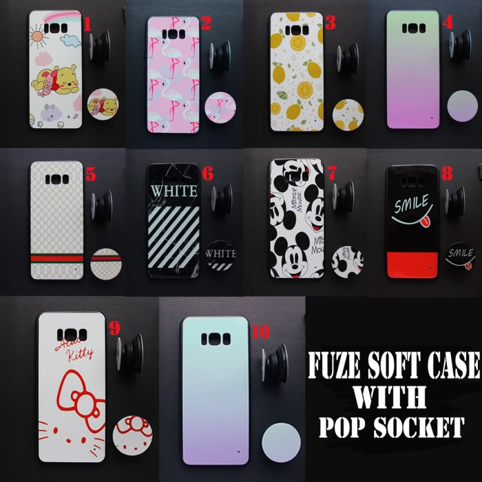 another chance 83663 d2f8c Jual Fuze Soft Case With Popsocket Samsung Galaxy Note 8 - DKI Jakarta -  ImportirAcc Store | Tokopedia