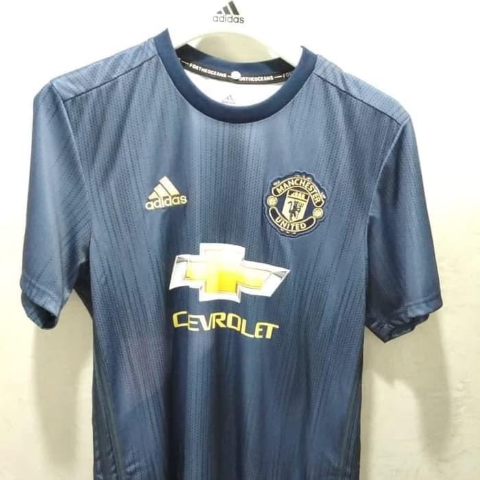 sports shoes 6a07f 1f416 Jual Jersey Manchester United Original Away 2018-2019 Parley - DKI Jakarta  - Winshoot Jersey | Tokopedia