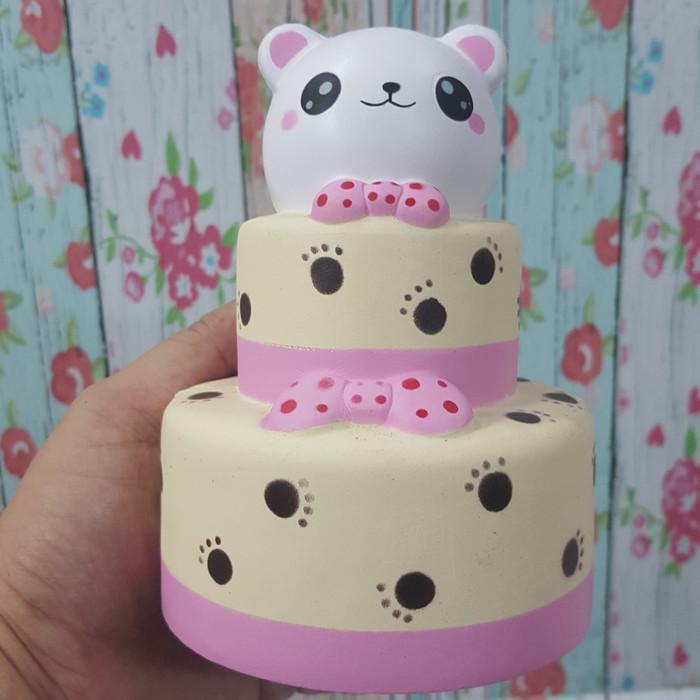 Jual Squishy Model Kue Tart Beruang Kualitas Premium Lucu Jakarta Barat Mainangrosir Tokopedia