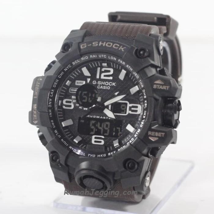 harga Jam tangan pria cowok murah casio g-shock gshock gwg1000 strap coklat Tokopedia.com