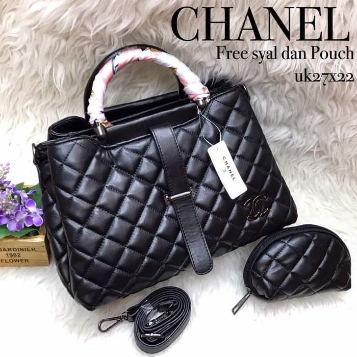 Jual Tas Chanel Lidah 3 Ruang Tas Import Fashion wanita - unix bag ... de00462999