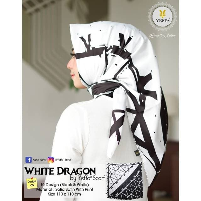 Se White dragon design 05