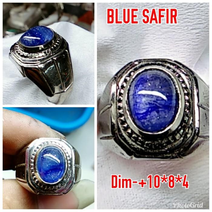 Foto Produk NATURAL BATU PERMATA BLUE SAFIR dari arjuna cincin