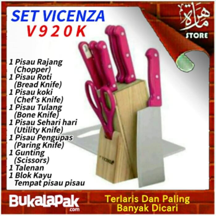 Pisau Set Vicenza V920k Dapur Terbaik Berkualitas