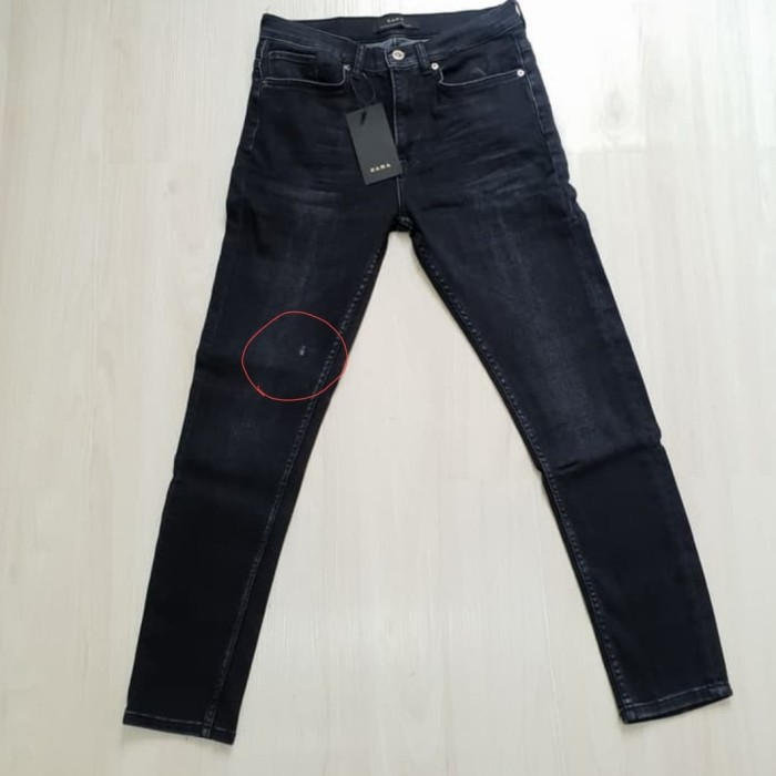 harga Celana jeans skinny fit zara man original not levis hnm lacoste tumi Tokopedia.com