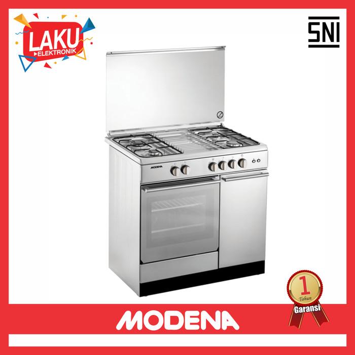... Stainless - pengiriman khusus jabodetabek. Source · Kompor Freestanding Modena FC 7943 S Kompor Oven Modena - PROMO