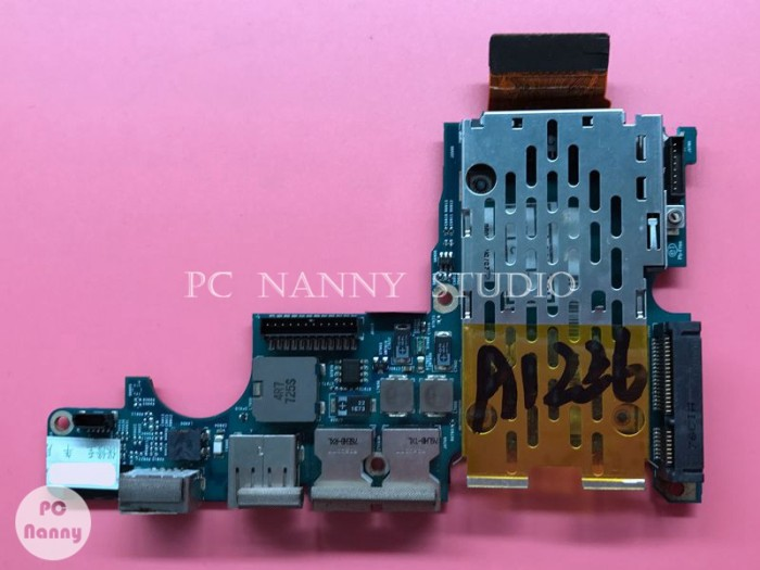 Apple Macbook Pro 15 A1226 Audio USB DC Power Jack Board wcable 820-21