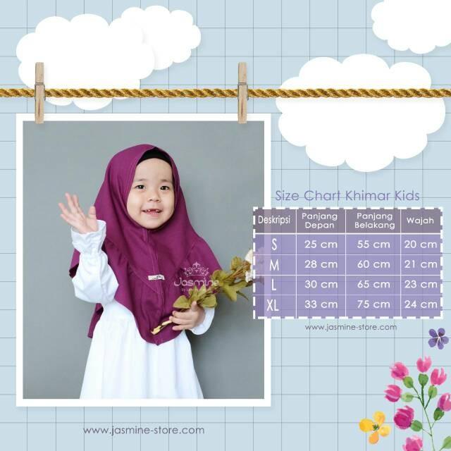 TERLARIS Khimar Salwa Kids by Jasmine Promo Big Sale