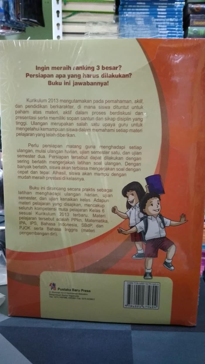 Jual Buku BEST SELLER PINTAR ULANGAN SD MI KELAS 6 K13N ORIGINAL Jakarta Barat Toko Buku Pak Somat