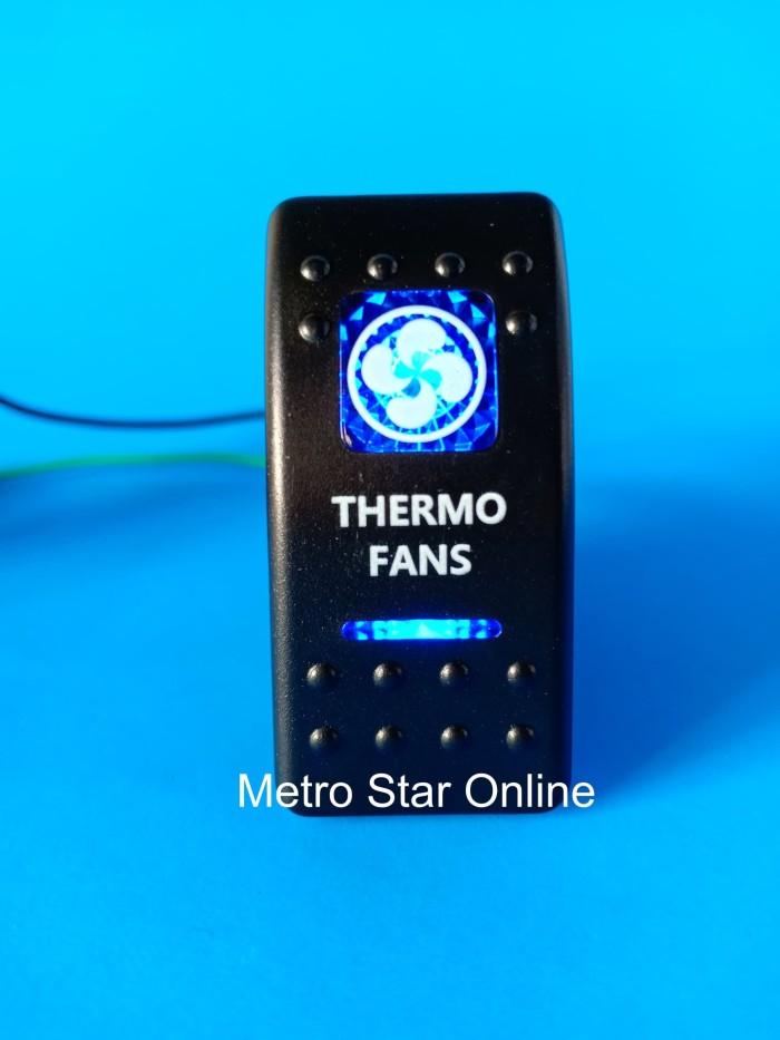 Foto Produk Rocker Switch Saklar Model ARB - Thermo Fan dari Metro Star Online