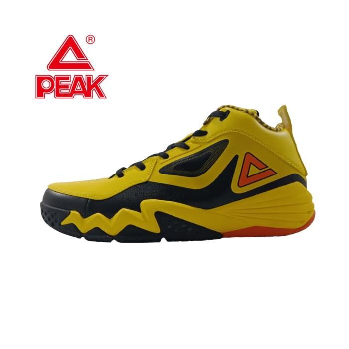 Jual PEAK Sepatu Basket Monster 2.3 Yellow Black - E51301A - Kuning ... 54b0b720f0