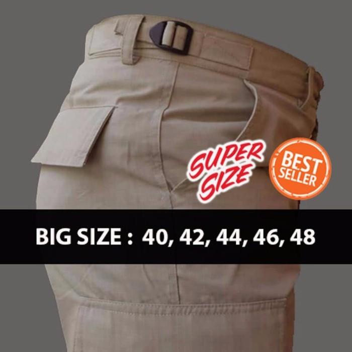 harga Big size celana lapangan celana gunung ukurang besar celana pdl lapa Tokopedia.com