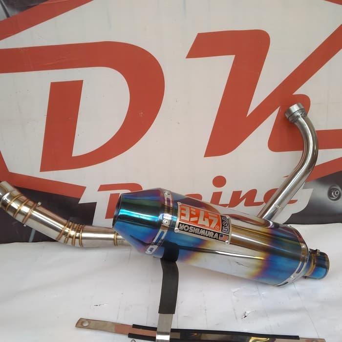 harga Knalpot Racing Honda Tiger Revo Yoshimura Usa Blue Blanja.com