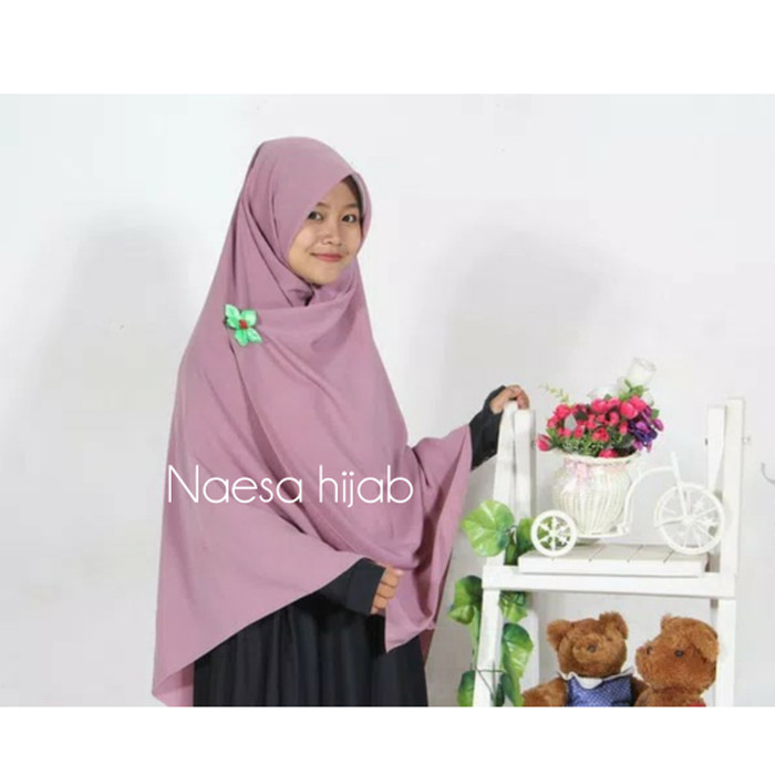 harga Jilbab / hijab segiempat syari 150x150 cm wolfis - segi empat 4 jumbo Tokopedia.com