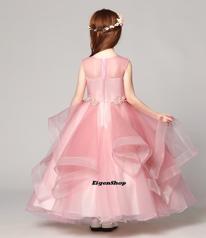 Jual A1612004 Gaun Pesta Anak Gaun Pengantin Anak Dress Anak Kota