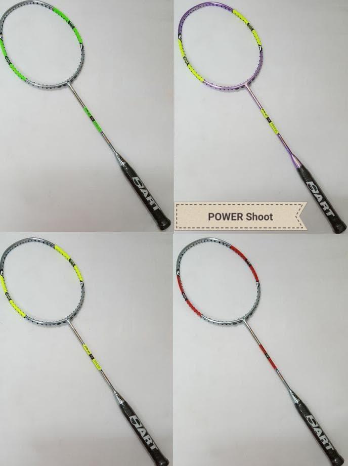 harga Hot Salee Original Hart Power Shoot Pro Raket Badminton + Pasang Senar Tokopedia.com