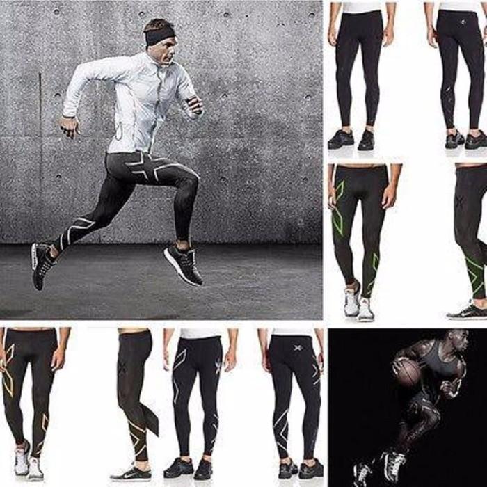 Jual Kualitas Terjamin Celana Sepeda Renang Fitness Legging Pria 2xu Premi Jakarta Barat Fionacraft Tokopedia