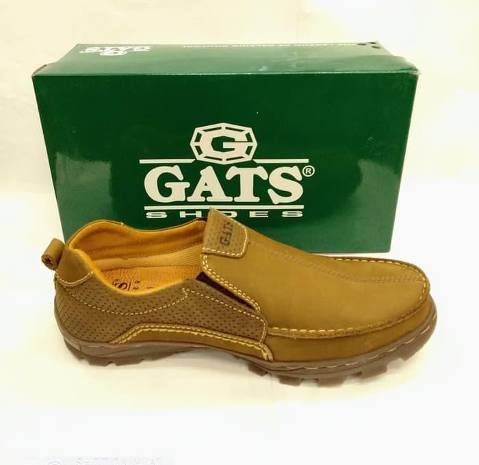 harga Sepatu kulit gats to 2203 camel sepatu casual pria original - cokelat Tokopedia.com
