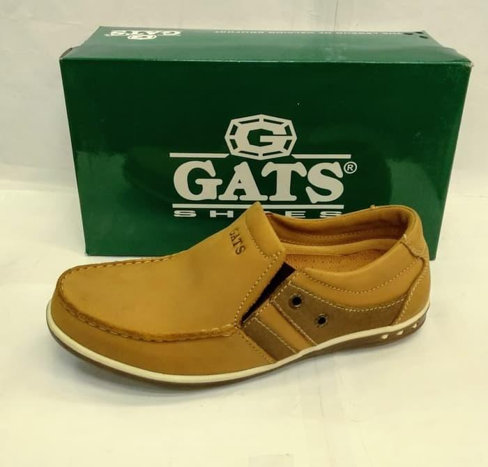 harga Sepatu kulit gats pb3702 tan sepatu casual pria original Tokopedia.com
