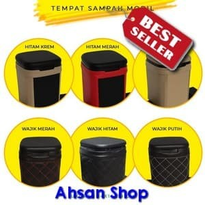 [Ahsan Shop] Tempat sampah portable / tempat sampah mobil