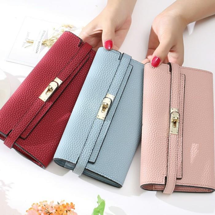 Jims Honey Dompet Fashion Wanita Import Stella Wallet Grey - Info ... 9b52ae742b