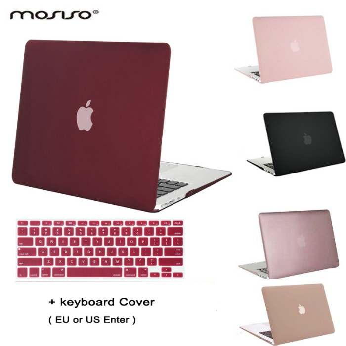 """Keyboard Cover For Apple MacBook Air 13/"""" Laptop Clear Hard Plastic Case Shell"""