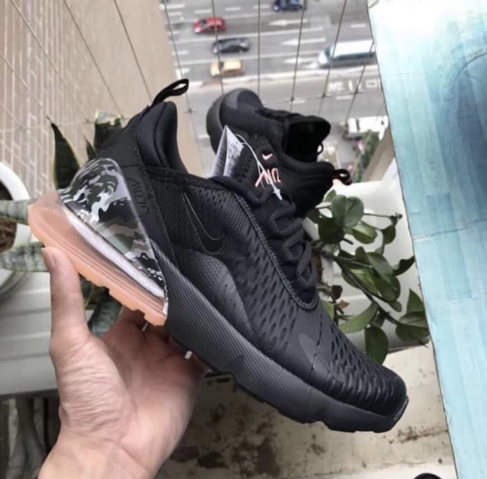 harga Sepatu pria - nike air max 270 camo heels black - prm Tokopedia.com