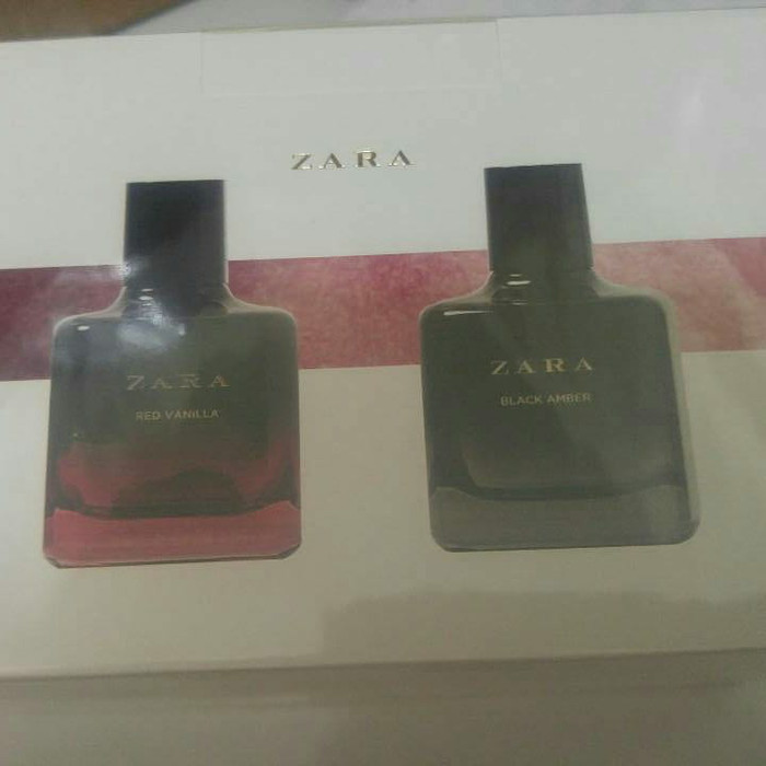 Zara Parfume *RED VANILLA - BLACK AMBER* Set