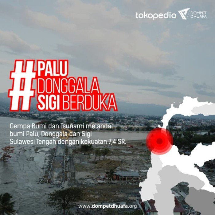 Jual Donasi Palu Donggala Dki Jakarta Dompet Dhuafa Tokopedia