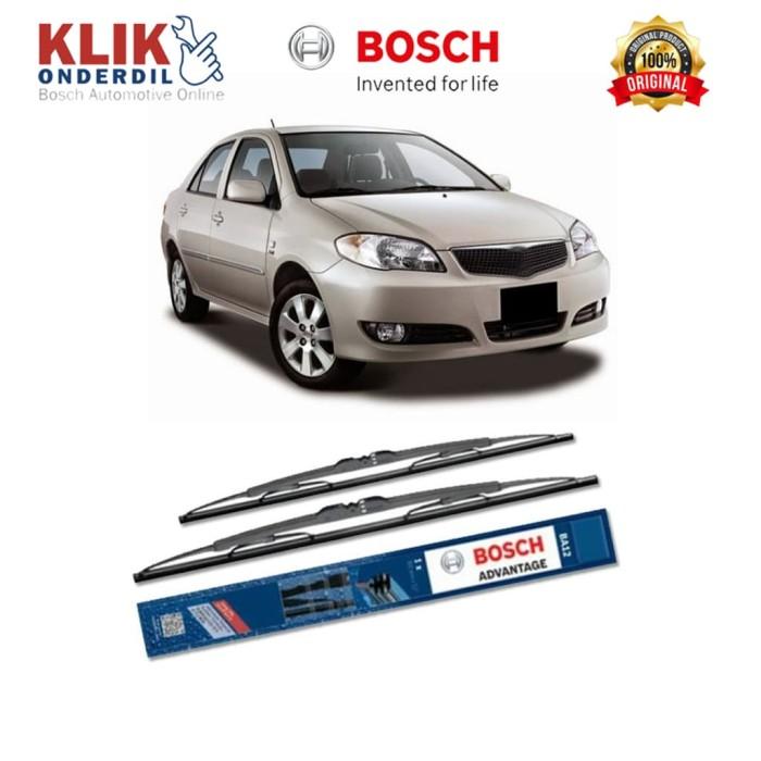 harga Bosch sepasang wiper advantage mobil toyota vios (2003-2007) 22 &14 Tokopedia.com