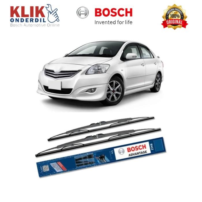 harga Bosch sepasang wiper advantage mobil toyota vios (2007-on) 24  & 14 Tokopedia.com