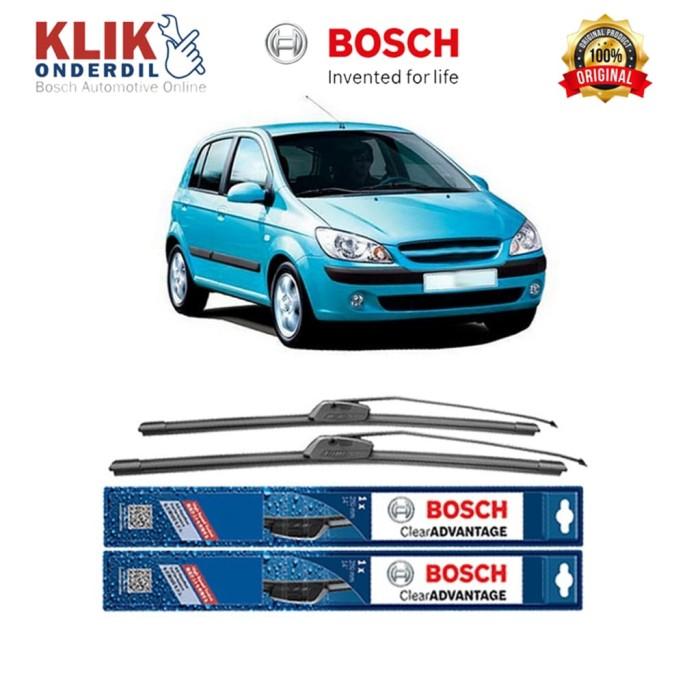 harga Bosch sepasang wiper mobil hyundai getz frameless advantage 22 & 14 Tokopedia.com