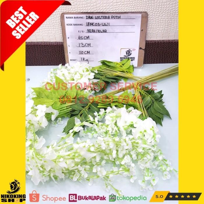 harga Daun wisteria putih 18mc03-ww1 Tokopedia.com