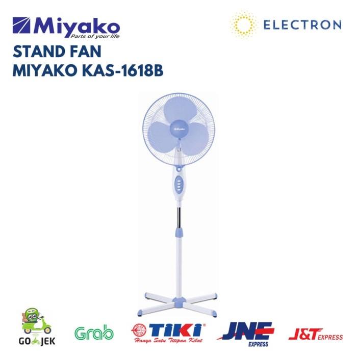 Stand fan miyako kas1618b ( kipas angin berdiri)