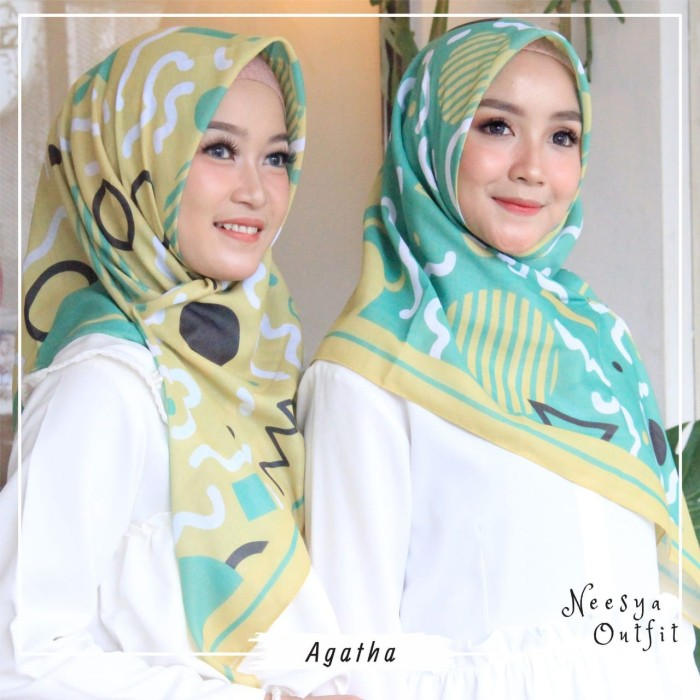 Hijab Bahan Voal Polos 31