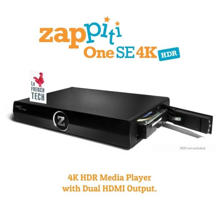 Foto Produk Zappiti One SE 4K HDR Media Player with Dual HDMI output dari KolektorFilm