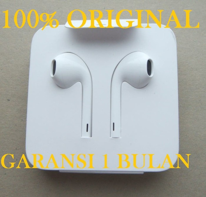 Jual Headset Apple Iphone 11 Pro Max Earpods Lightning Connector Original Jakarta Pusat Pasti Original Asli Tokopedia