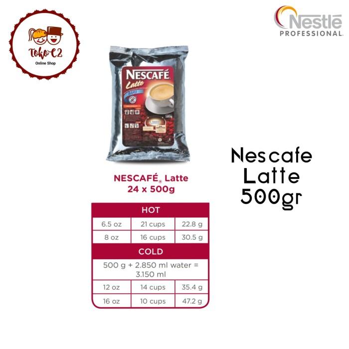 NESCAFE Latte 500gr NESTLE Professional