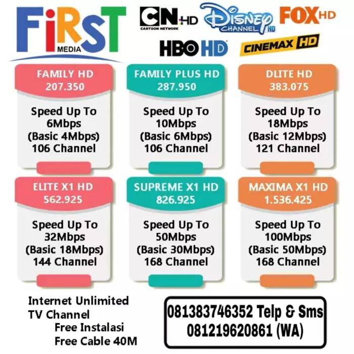 Jual Internet Wifi Promo First Media Free Instalasi Kota Tangerang Misstereo Comp Tokopedia