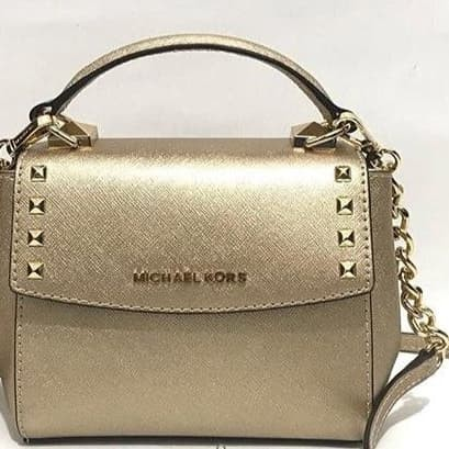 8bf982c885e6ca Tas michael kors original / michael kors karla mini gold crossbody