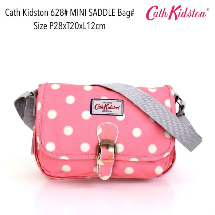 Tas selempang wanita import fashion saddle bag 628 - 9
