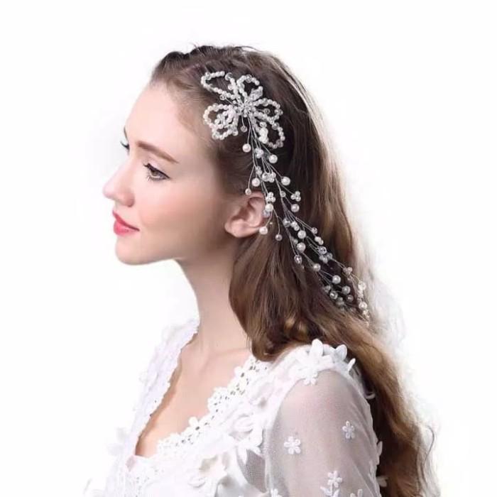 Foto Produk Hair piece bunga mutiara elf dari Sarkara Shop