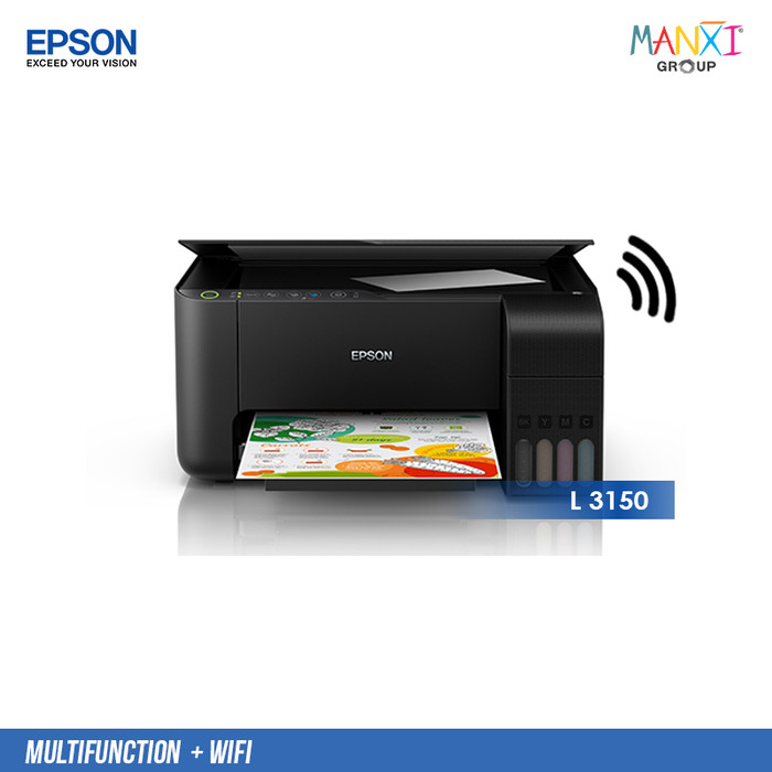 Jual Printer Epson EcoTank L3150 Wi-Fi All-in-One Original - Kota Surakarta  - manxigroup | Tokopedia