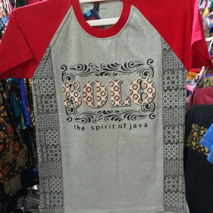 Jual Kaos Batik Solo Kaos Oblong Motif Abstrak Solo - Batik Butik ... 4a041d2b03