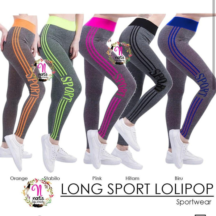Jual Long Sport Legging Warna Lolipop Import Celana Legging Sport Zumba Kota Tasikmalaya Desy Boutique Tokopedia