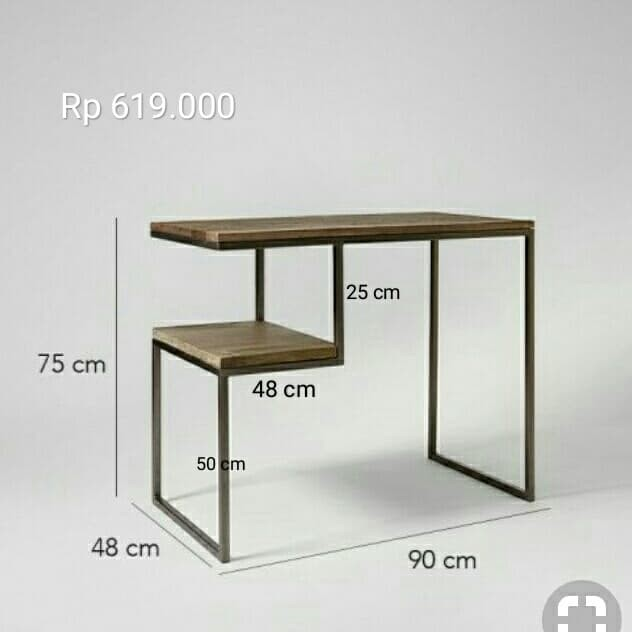 Jual Meja Besi Rangka Besi Meja Hollow Kab Tangerang Imagination Zone Fellix Tokopedia