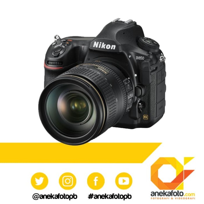 harga Nikon d 850 / d850 kit 24-120mm ed vr kamera dslr Tokopedia.com